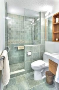 Cute Small Bathroom Decor Ideas On A Budget To Try13
