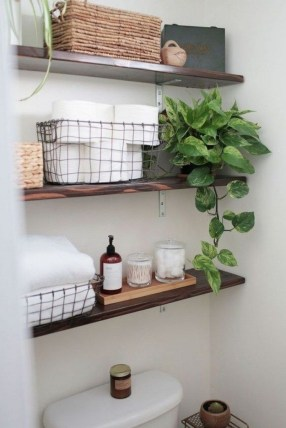 Cute Small Bathroom Decor Ideas On A Budget To Try17