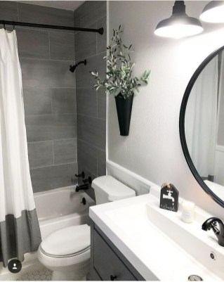 Cute Small Bathroom Decor Ideas On A Budget To Try25