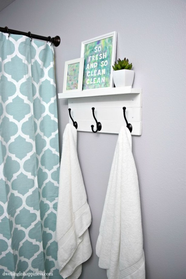Cute Small Bathroom Decor Ideas On A Budget To Try38