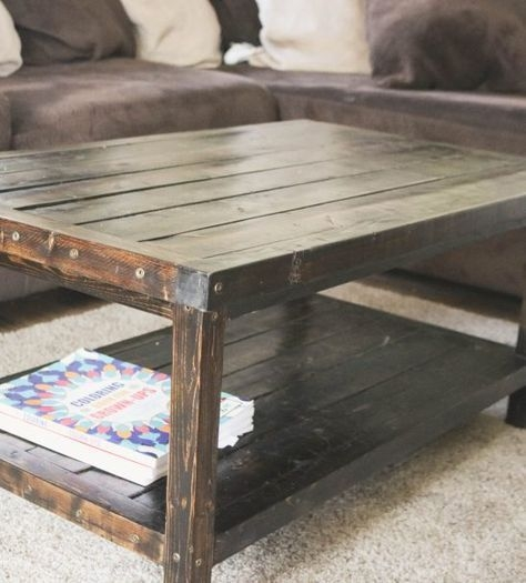 Fantastic Diy Projects Mini Pallet Coffee Table Design Ideas40