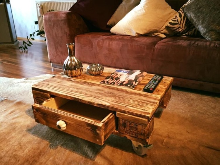 Fantastic Diy Projects Mini Pallet Coffee Table Design Ideas41