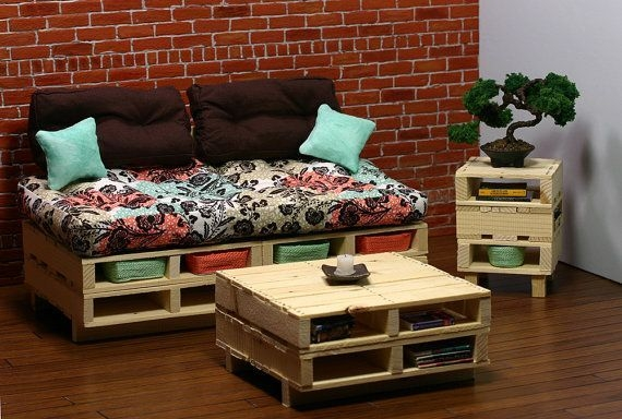 Fantastic Diy Projects Mini Pallet Coffee Table Design Ideas43