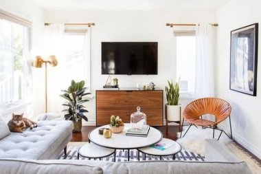 Hottest Living Room Design Ideas In A Small Space To Try38