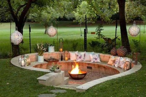 Inspiring Outdoor Fire Pit Design Ideas To Try15