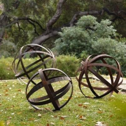 Inspiring Outdoor Metal Design Ideas For Garden Art You Must Try24