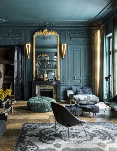 Magnificient Home Interior Design Ideas With Beautiful Colors37