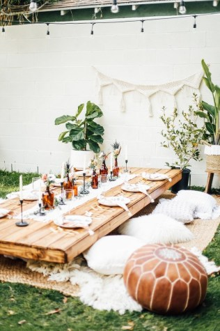 Magnificient Outdoor Summer Decorations Ideas For Party18