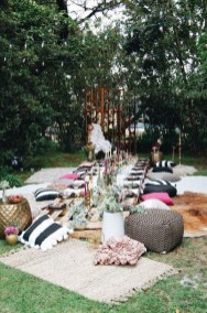 Magnificient Outdoor Summer Decorations Ideas For Party28
