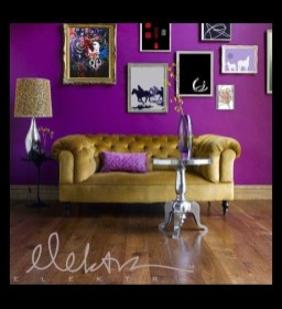 Modern Living Room Ideas With Purple Color Schemes11
