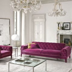 Modern Living Room Ideas With Purple Color Schemes21