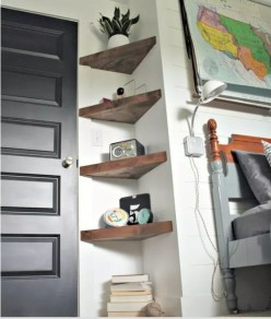 Newest Corner Shelves Design Ideas For Home Decor Looks Beautiful03