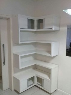 Newest Corner Shelves Design Ideas For Home Decor Looks Beautiful23