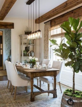 Outstanding Farmhouse Dining Room Design Ideas To Try06