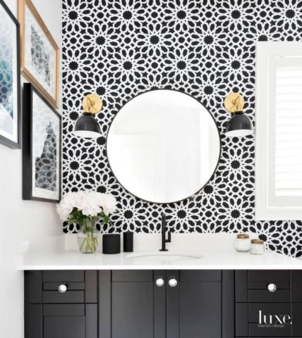 Adorable Pattern Design Ideas For Your Room08
