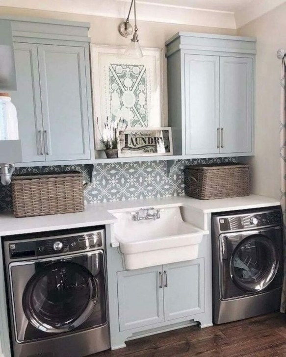 Best Laundry Room Design Ideas To Try This Season45