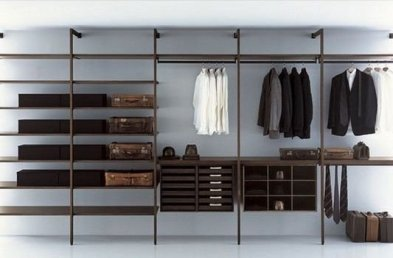 Best Minimalist Walk Closets Design Ideas For You13