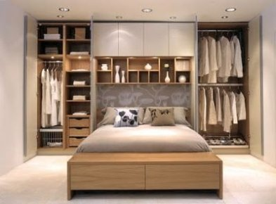 Best Minimalist Walk Closets Design Ideas For You14