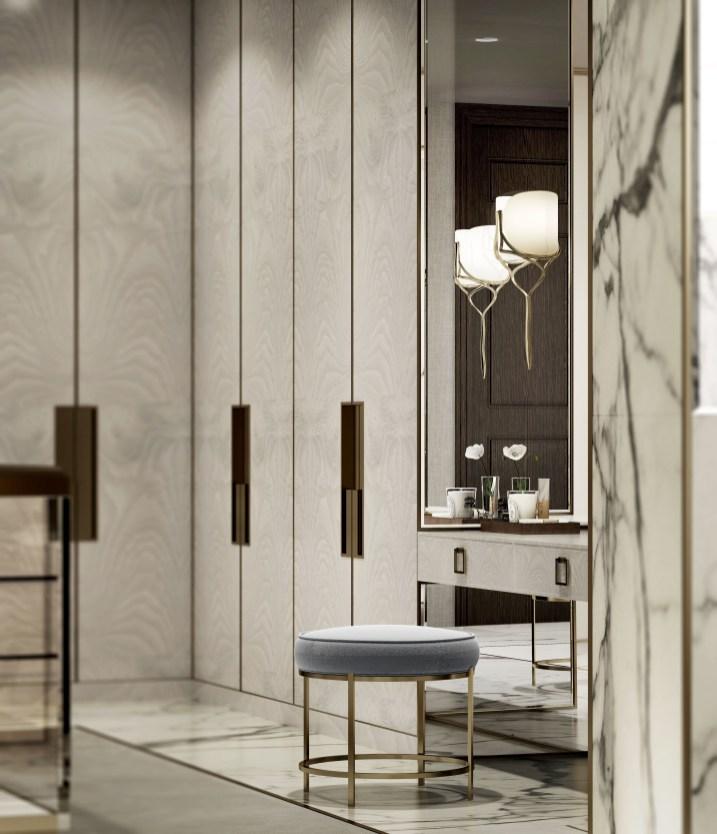 Best Minimalist Walk Closets Design Ideas For You27