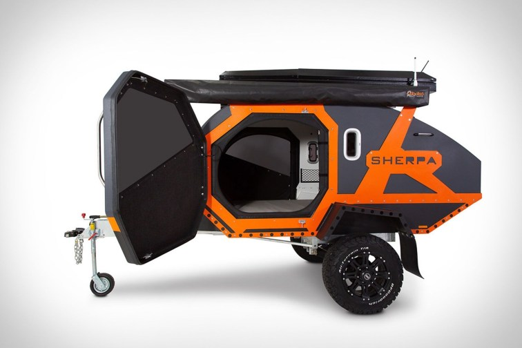 Best Tvan Camper Hybrid Trailer Gallery Ideas20