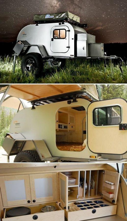 Best Tvan Camper Hybrid Trailer Gallery Ideas37