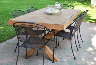 Charming Diy Wooden Dining Table Design Ideas For You10