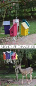 Elegant Bird House Ideas For Your Backyard Space02