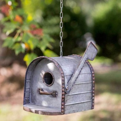 Elegant Bird House Ideas For Your Backyard Space07