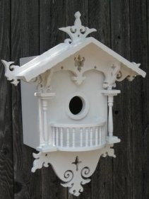 Elegant Bird House Ideas For Your Backyard Space16
