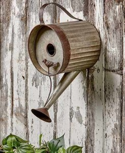 Elegant Bird House Ideas For Your Backyard Space26