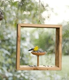 Elegant Bird House Ideas For Your Backyard Space33