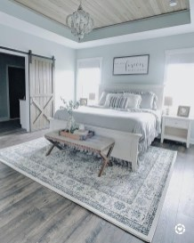 Magnificient Farmhouse Bedroom Decor Ideas To Try Now23
