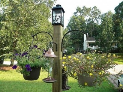 Magnificient Stand Bird House Ideas For Garden11