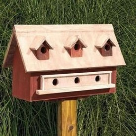 Magnificient Stand Bird House Ideas For Garden30