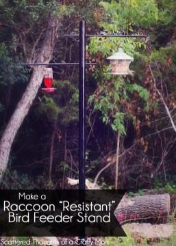 Magnificient Stand Bird House Ideas For Garden44