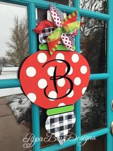 Popular Door Ornament Design Ideas For You05