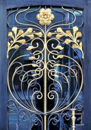 Popular Door Ornament Design Ideas For You34