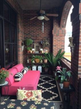 Popular Small Apartment Balcony Decor Ideas For You15