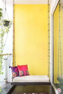 Popular Small Apartment Balcony Decor Ideas For You40