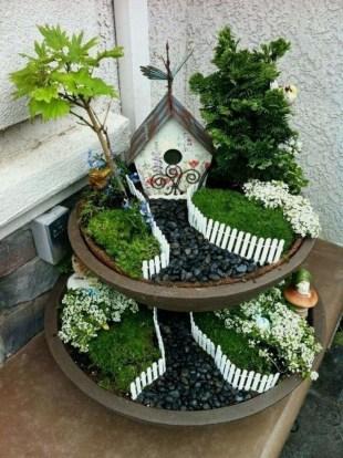 Pretty Fairy Garden Design Ideas To Try27