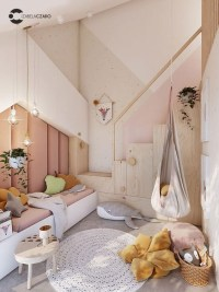 Relaxing Kids Room Designs Ideas That Strike With Warmth And Comfort30