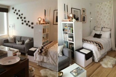 Splendid Studio Apartment Decorating Ideas That Looks Cool28