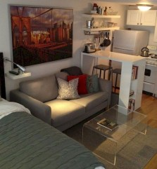 Splendid Studio Apartment Decorating Ideas That Looks Cool36