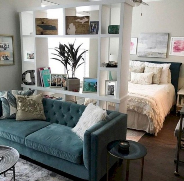 Splendid Studio Apartment Decorating Ideas That Looks Cool48