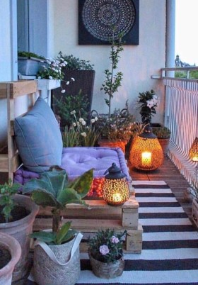 Superb Apartment Balcony Decorating Ideas To Try26