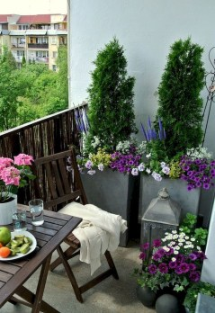 Superb Apartment Balcony Decorating Ideas To Try35