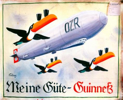 Guinness airship