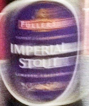 Imperial stout blurred