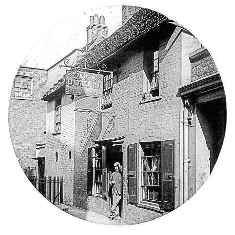 The Dove(s), Hammersmith circa 1880