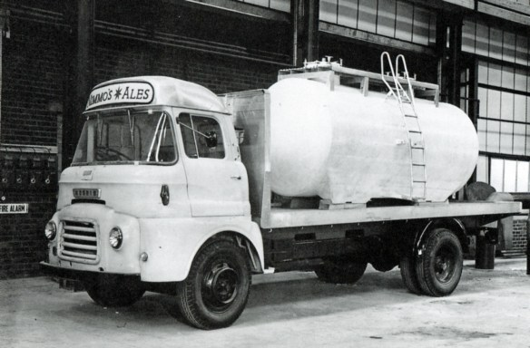 Bedford-based beer tanker used by Nimmo's of Castle Eden